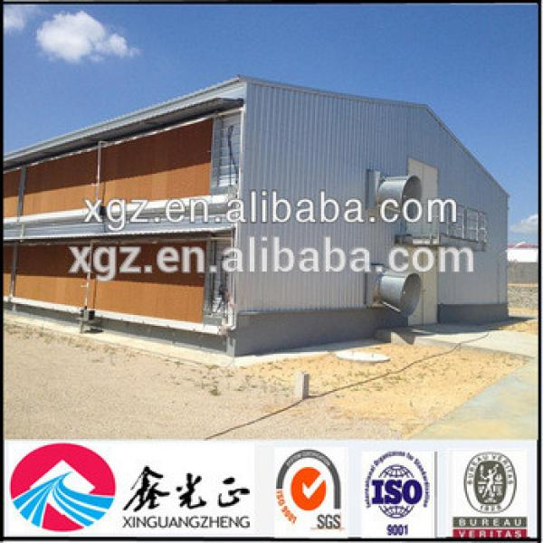 Prefabricated Steel Structure Automatic Broiler Poultry House #1 image