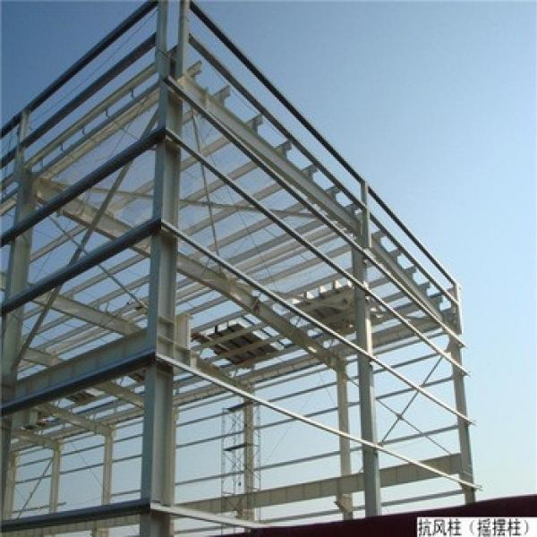 China Prefabricated Large Span Insulated Steel Hangar #1 image