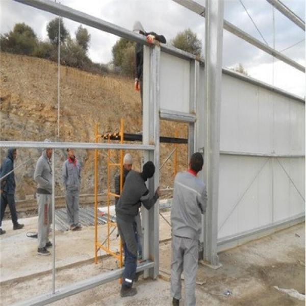 New Design Commercial Low Cost Prefabricted Steel Structure Chicken Slaughter Plant #1 image
