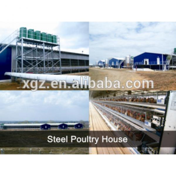 Modern Design Chicken Poultry House Design & Chicken Farm Poultry Equipments For Sale #1 image