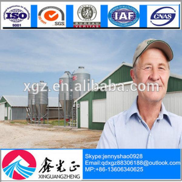 Professional Design Modular Steel Structure Warehouse Used For Chicken Eggs #1 image