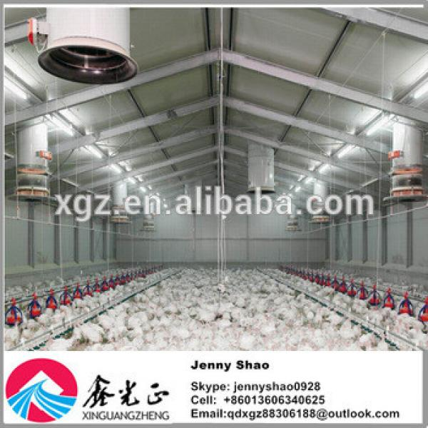 Steel Structure Hennery/poultry House/henhouse/chicken Farm Design And Manufacture #1 image