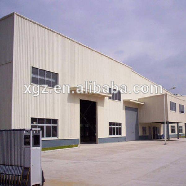 Lightweight Prefab Workshop Factory Building Steel Construction #1 image