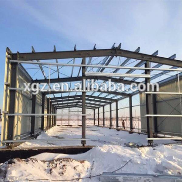 Steel Material Morden Design Algeria Prefabricated Workshop #1 image