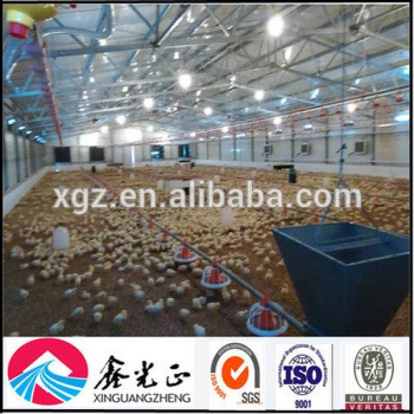 China design auto equipment Chicken Broiler Farm Building #1 image