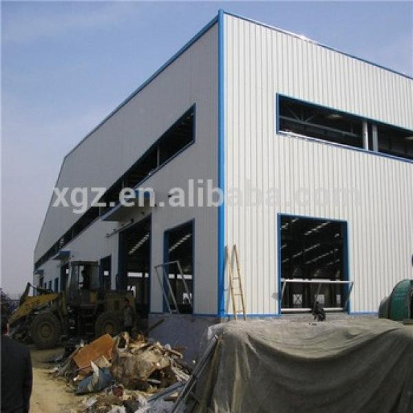 High Strength Prefabricated Light Steel Structure Factory #1 image