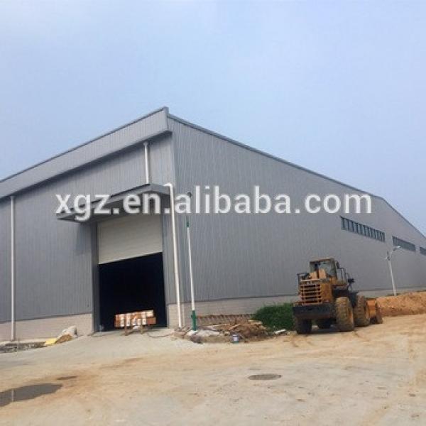 Modern Light Frame Prefab Steel Structure Construction Design Office Warehouse #1 image
