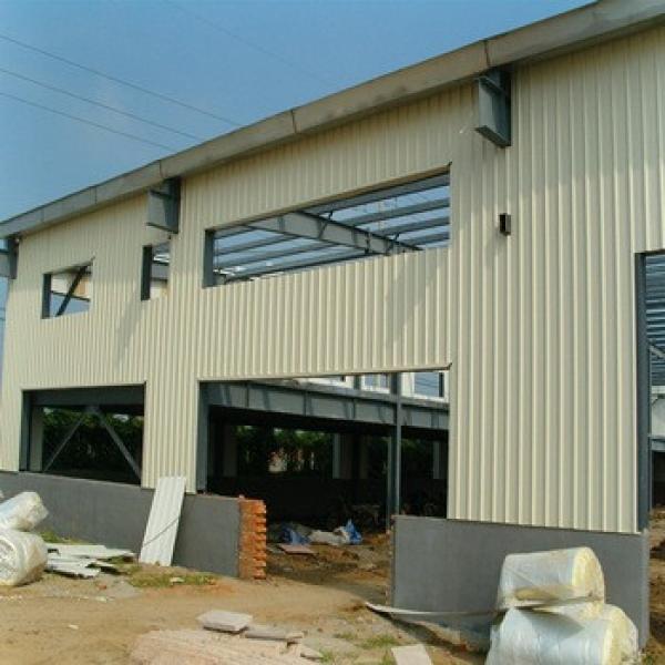 Hot Dip Galvanized Prefab Steel Structure Light Metal Construction #1 image