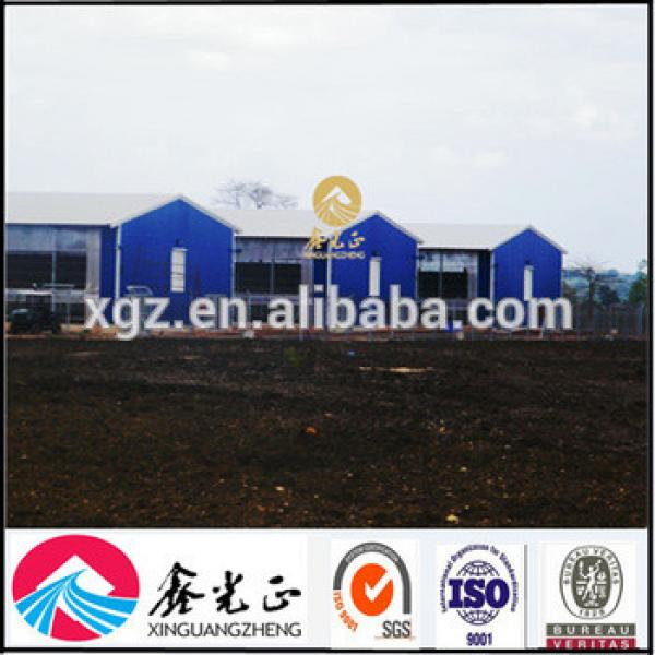 High quality commercial prefab light steel structure chicken poultry house #1 image