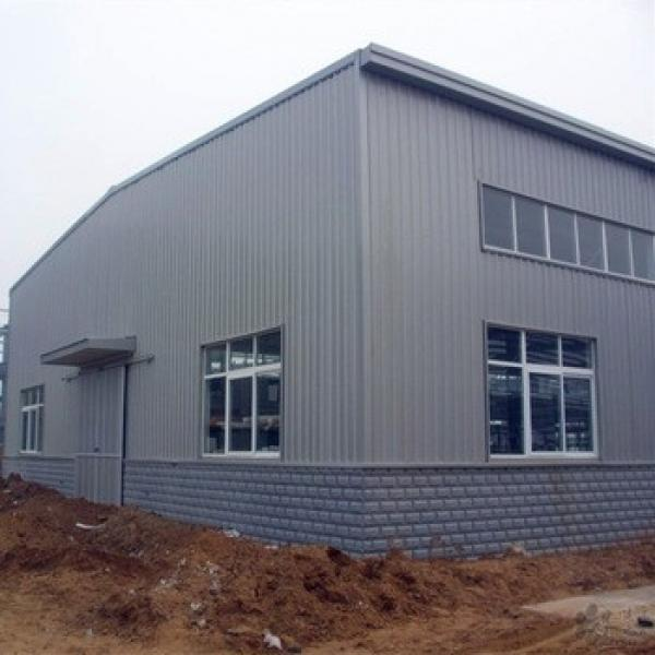 Low Cost Construction Design Prefabricated Steel Structure Shed #1 image