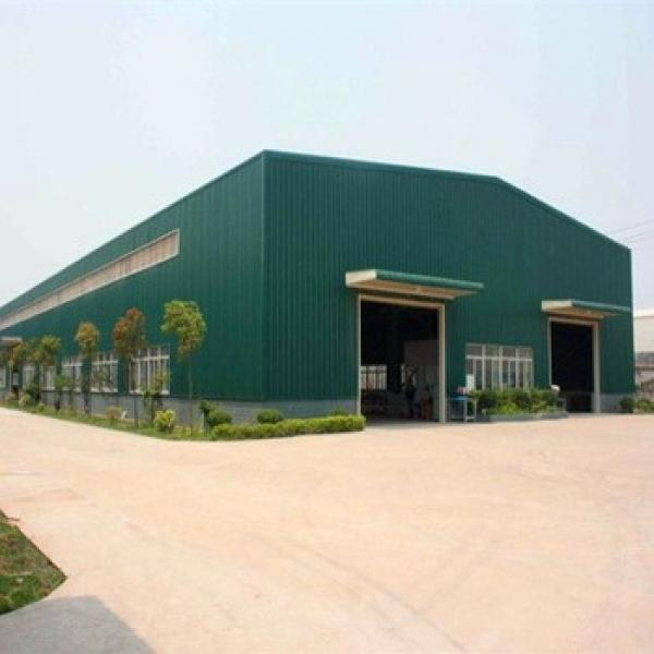 Prefabricated Galvanized Light Steel Frame Warehouse #1 image