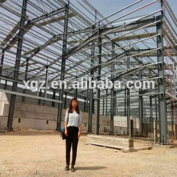 China Low Price Light Steel Prefabricated Warehouse/Hangar #1 image
