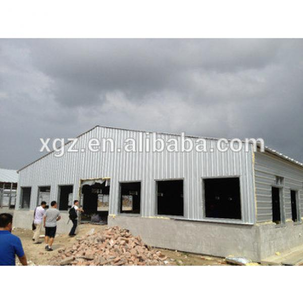 industrial steel structure design poultry farm shed chicken house for layers/broilers #1 image