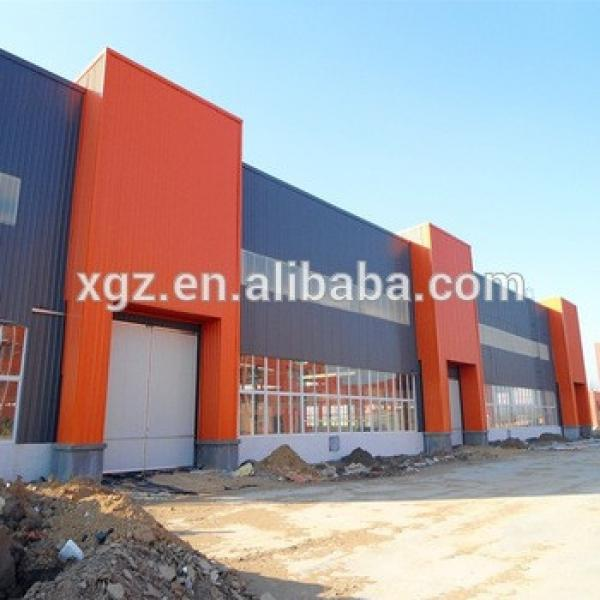 China Low Cost Construction Design Prefab Light Steel Frame Warehouse #1 image
