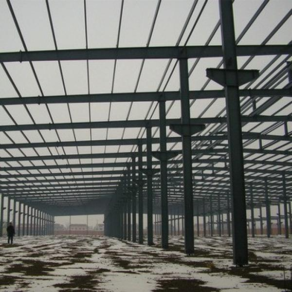 Low Prices Chinese Construction Design Large Span Prefabricated Steel Building #1 image