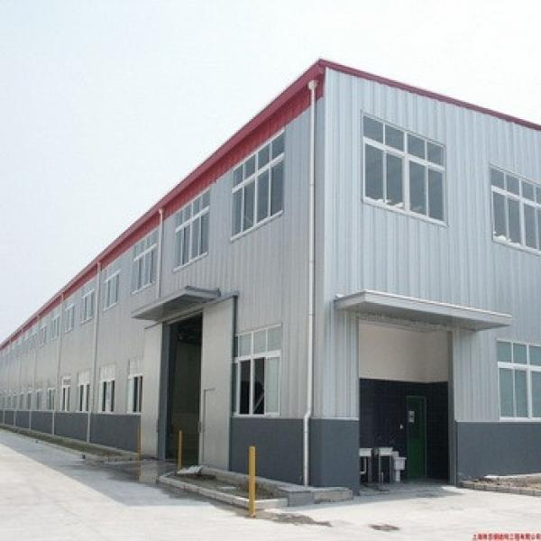 Construction Large Span Steel Structure Prefabricated Temporary Building #1 image