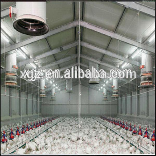 Building Light Steel Fabricated Structure Chicken House #1 image