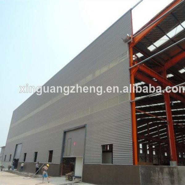 High Quality Africa Project Prefab Steel Warehouse/Workshop/Shed #1 image