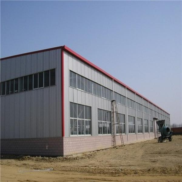 Wide Span High Strength Prefabricated Steel Structure Shopping Mall #1 image