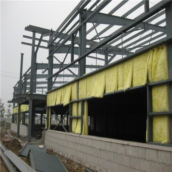 Low Cost Prefabricated Steel Frame Storage Building #1 image
