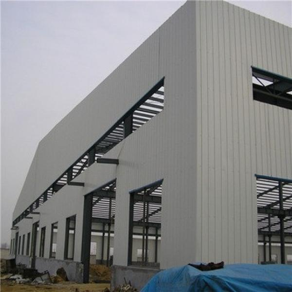 Low Price Easy Installation Prefab Steel Structure Warehouse Building #1 image