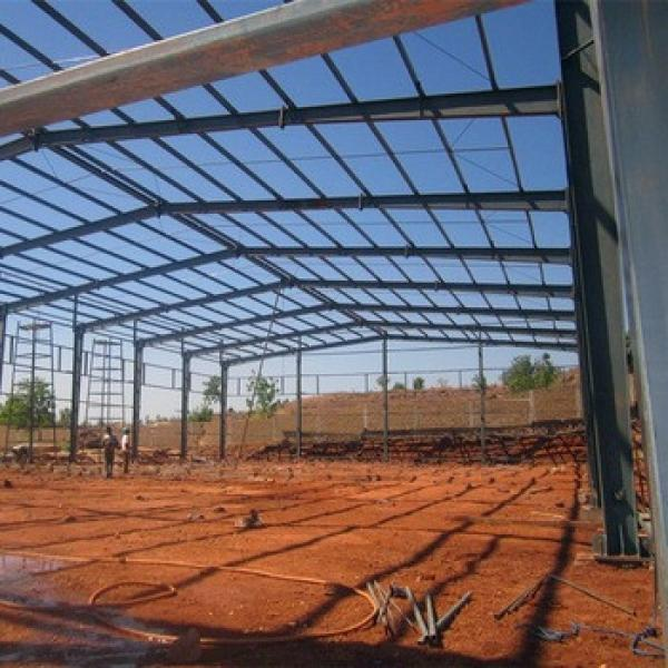 Light Frame Steel Building Construction Warehouse Steel Shade Structure #1 image