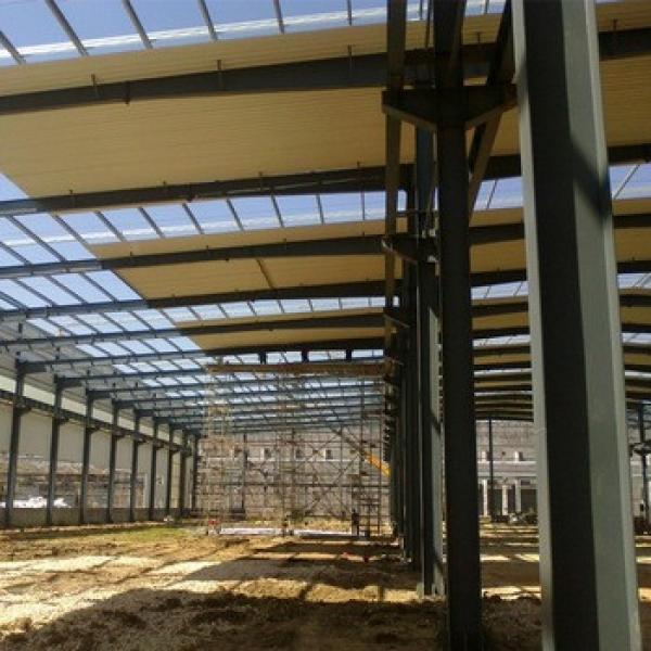 Low Cost Modern Design Steel Prefabricated Industrial Sheds For Sale #1 image