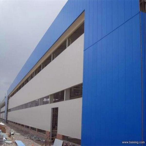 China Qualified Steel Structure Workshop/Warehouse/Storage/Shed Building Design #1 image