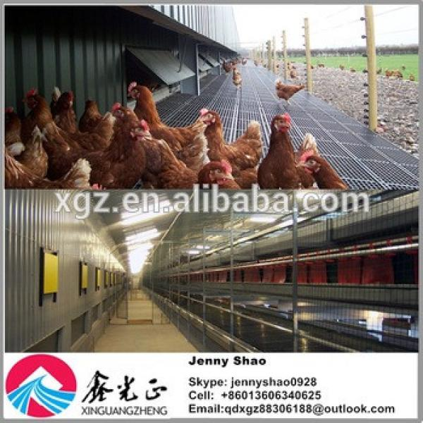 Automatic poultry feeding system Professional design chicken egg poultry farm #1 image