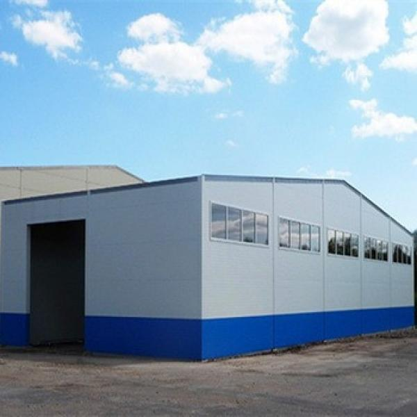 China Prefabricated Large Span Steel Structure Industrial Hall #1 image