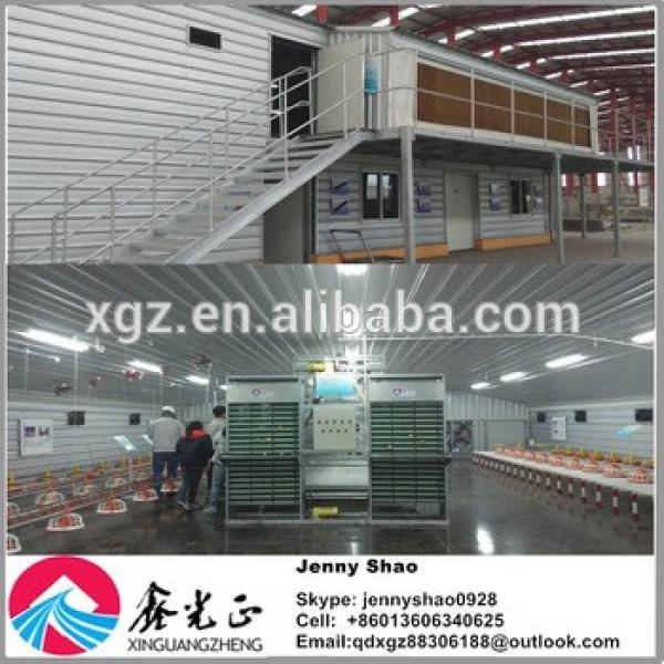 Prefabricated Chicken Broiler Poultry Building House #1 image