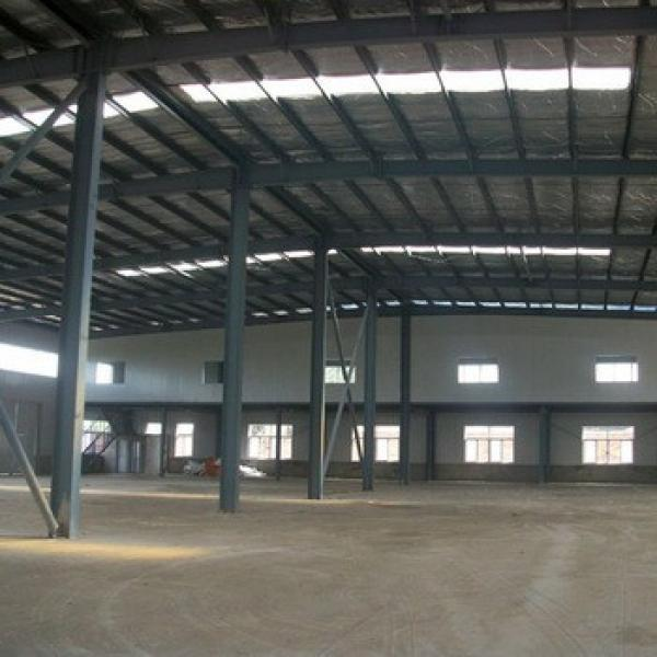 Construction Design Light Steel Prefabricated Warehouse With Insulation #1 image