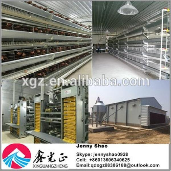 Good quality automatic egg chicken house design for layers #1 image