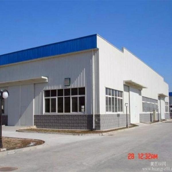 Light Frame Industrial Sheds Construction Steel Warehouse Design #1 image