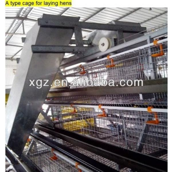 best price design chicken egg poultry farm shed with automatic equipment #1 image