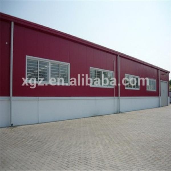 Low Price Prefabricated Steel Structure Warehouse With Office #1 image