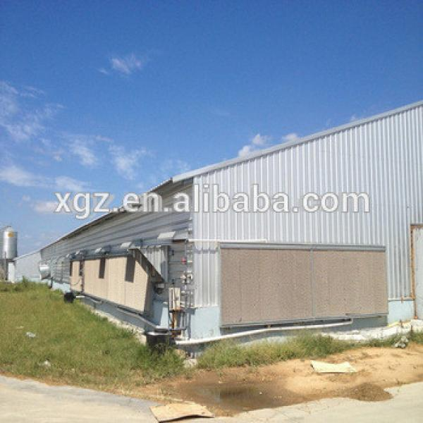 ready made poultry farm steel broiler chicken shed #1 image