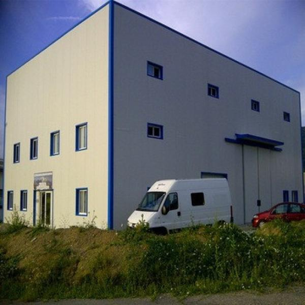 Temporary Used Low Cost Structural Steel Prefabricated Quick Build Warehouse #1 image