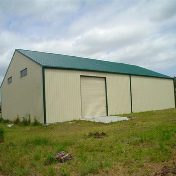 Low Cost Light Frame Structural Prefabricated Steel Barn For Sale #1 image