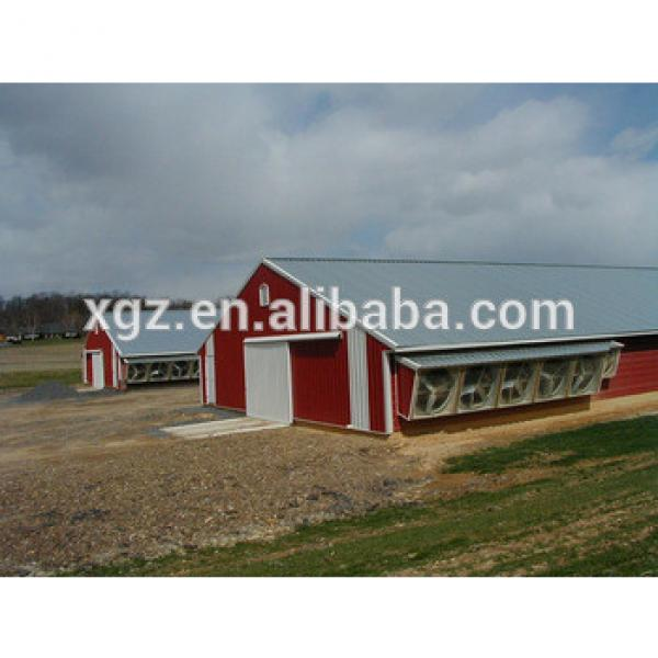 prefab chicken farm building and automatic controlled poultry farm shed #1 image