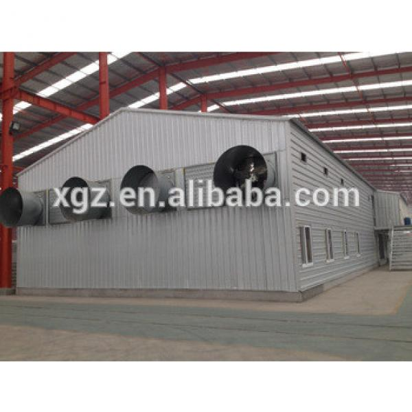 Commerical Prefabricated Steel Automatic Broiler Poultry House #1 image
