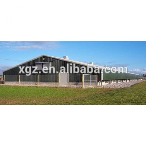 High quality Free range poultry house/Chicken house and Equipment #1 image