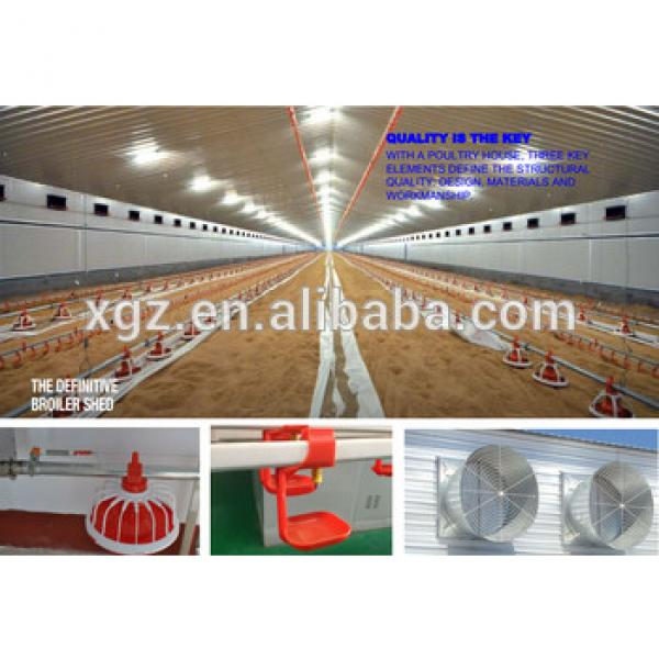 Automatic poultry farm equipment for chicken broiler poultry house #1 image