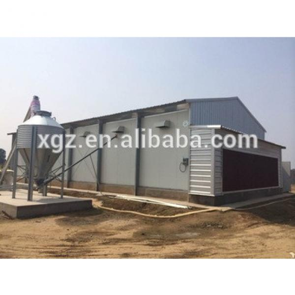 Automatic Control Poultry Shed/farm For Broiler Layer Breeder Chicken Design #1 image
