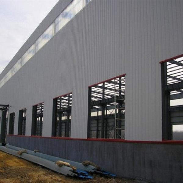 Construction Design Light Steel Structure Workshop Design Layout #1 image