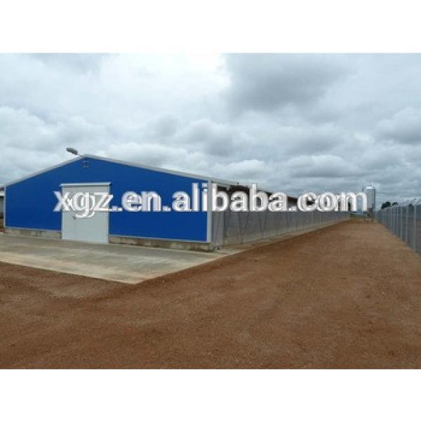 Africa steel structure chicken house design #1 image