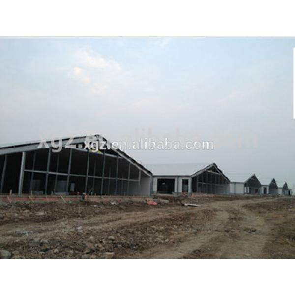 China steel structure building prefab poultry house construction #1 image