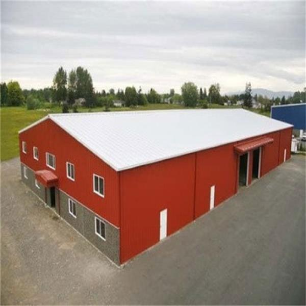 Light Frame Small Warehouse Prefabricated Metal Shed Storage Buildings #1 image