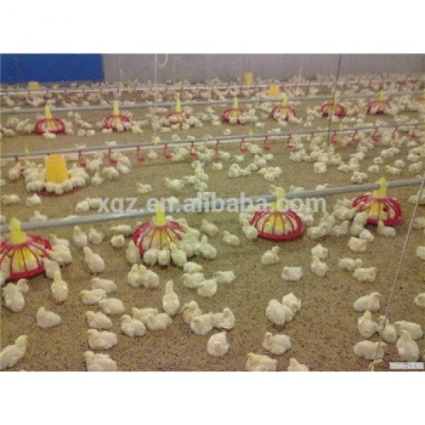 Automatic poultry feeding system for broiler chicken house #1 image