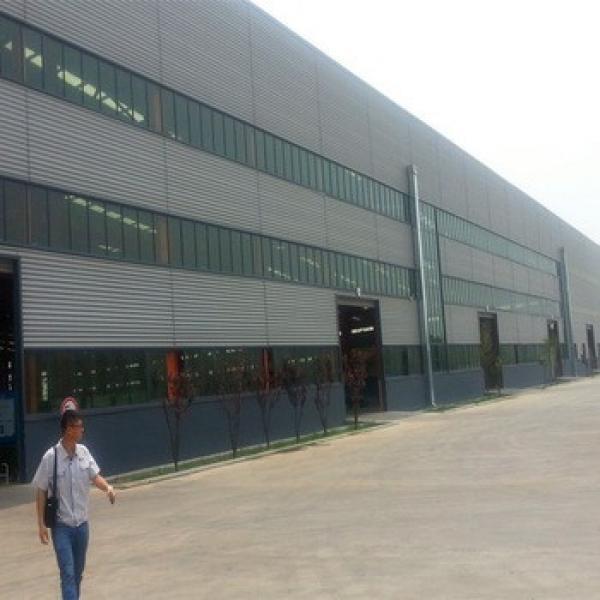 Lightweight China Manufacturer Workshop Prefabricated Industrial Sheds #1 image
